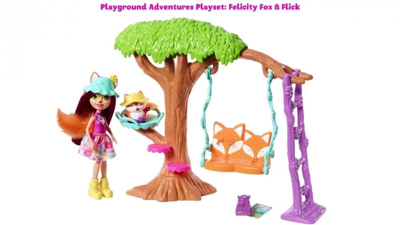 New upcoming Enchantimals dolls- Wolf, Tiger, Swan, Polar Bear and cute playsets.mp4