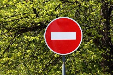 Внимание! Запрещено движение по проспекту Машерова сегодня, 8 мая, с 20.00 до 21.30