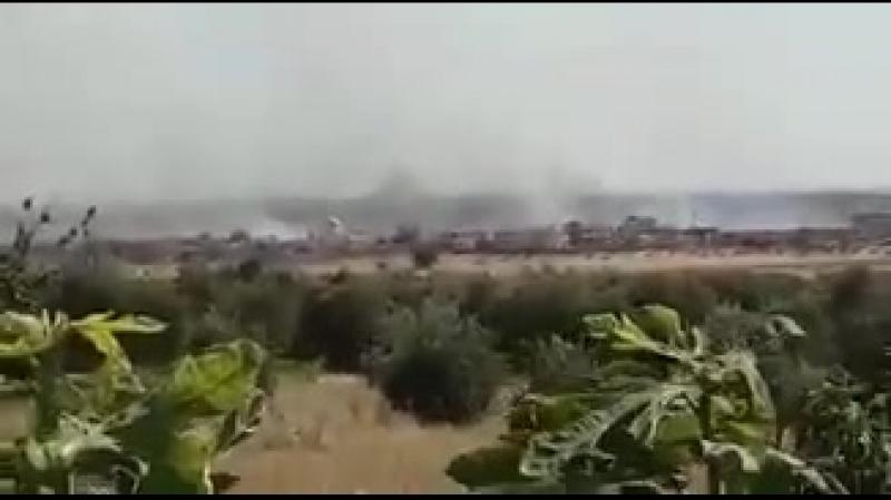 В районе Джуб Рамла к западу от Хамы прогремело несколько мощных взрывов Источники утверждают что взорвался ещё один правитель