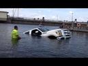 Неудачный спуск лодок на воду. Вот так неудачи.