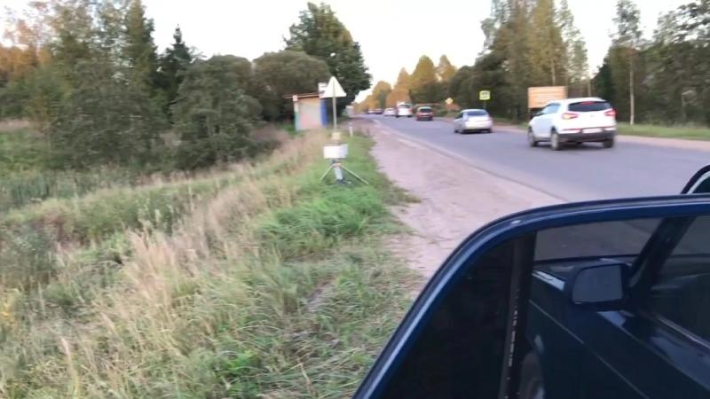 Незаконно установленная камера ГИБДД в Новгородской области