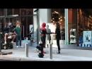 12 октября: Зендая и Том Холланд на съемках фильма «Человек Паук: Вдали От Дома» в Нью-Йорке