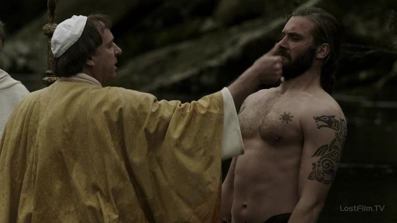Vikings |1х07| крещение Ролло
