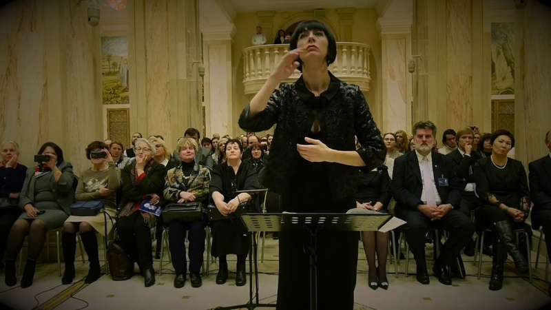 G.Sviridov Beheld a strange Christmas (СвиридовСтранное Рождество видевше) - Choir of the BSAM