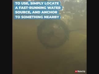 Это ультра портативное устройство генерирует энергию от ветра и воды