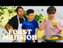 Joji and Rich Brian Get an Omelette Master Class from a French Chef - Feast Mansion