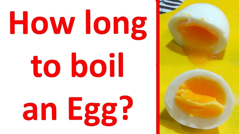 How long does it take to boil eggs How to cook Hard boiled eggs and Soft boiled eggs