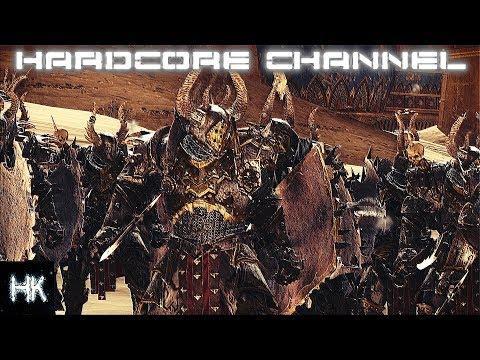 Total War Warhammer 2 - Империи Смертных прохождение Hardcore Хаос =15= Воздаяние и месть
