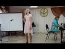 Новикова Лиза Четыре черненьких чумазеньких чертенка Академический концерт 23 05 2018г