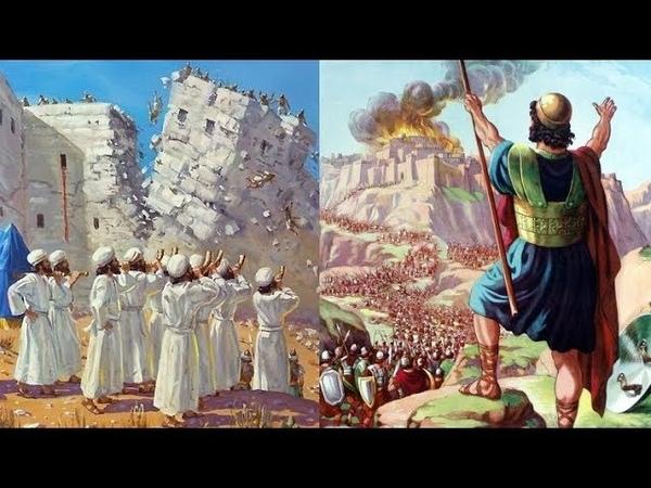 Biblische Beweise in Jericho ➤ Josua und der König von Hazor