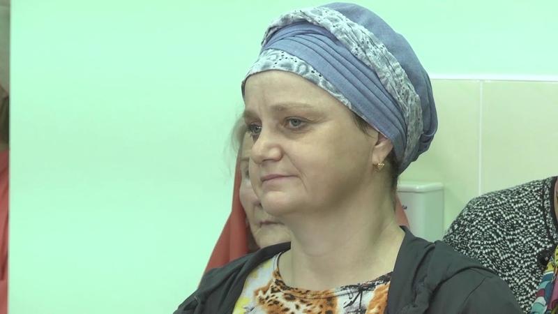 В Рязанский онкологический диспансер передана икона Божией Матери «Всецарица». 2018 год