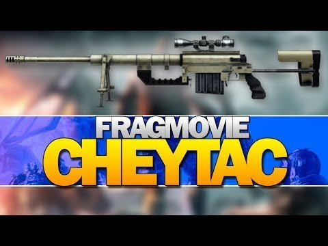 3 FragMovie (CheyTac M200) | Warface