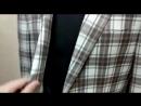 Мягкое итальянское плечо наружный карман barchetta