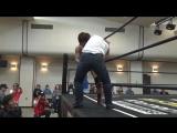 Ken Oka (c) vs. Keisuke Ishii (Ganbare Wrestling - Dreaming I Was Dreaming 2018)