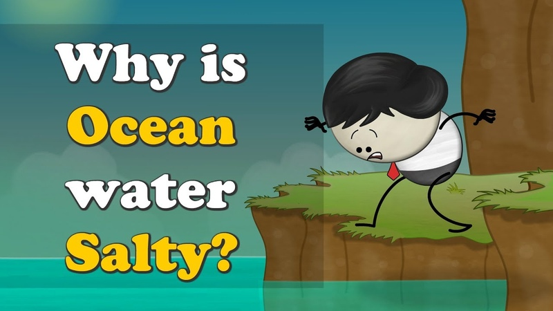Why is Ocean water Salty? | aumsum kids ocean water salty