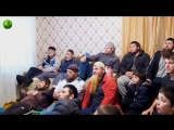 Как смотрели бой Хабиба Нурмагомедова в родном селе