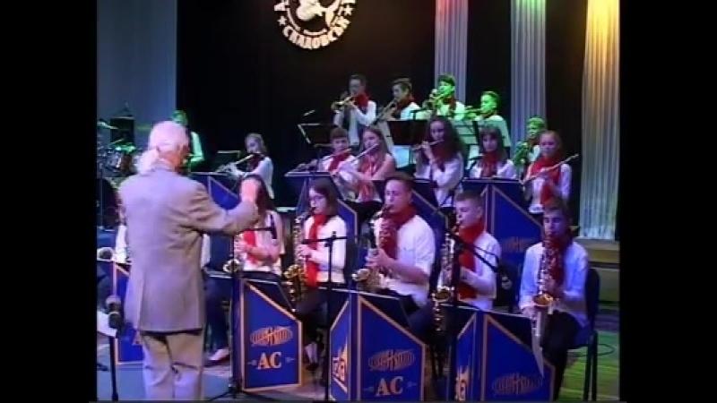 Детский оркестр Little Band, г. Днепр на фестивале Джаз над морем - 2017 (г.Скадовск)