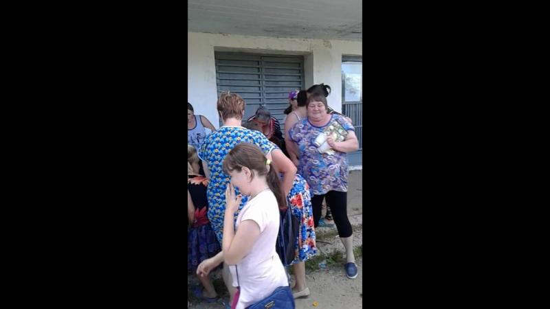 помощь семьям поселка Ветлужски