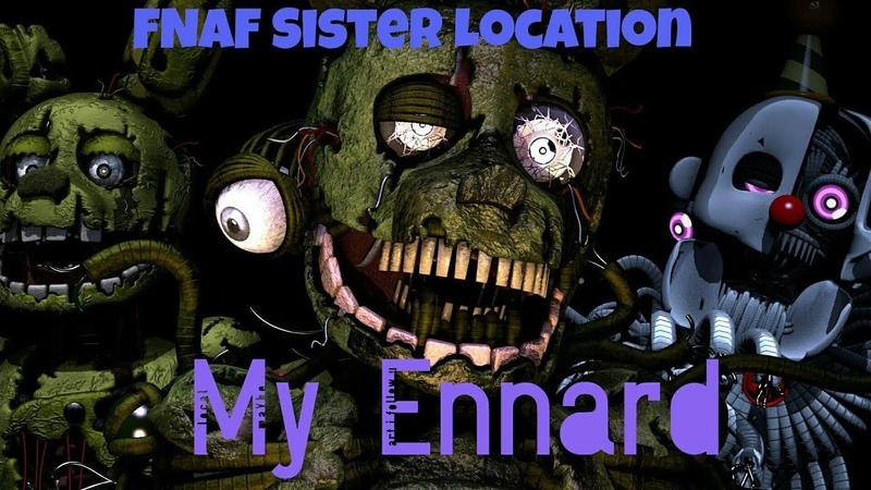 [SFM FNAF] My Ennard by Groundbreaking.