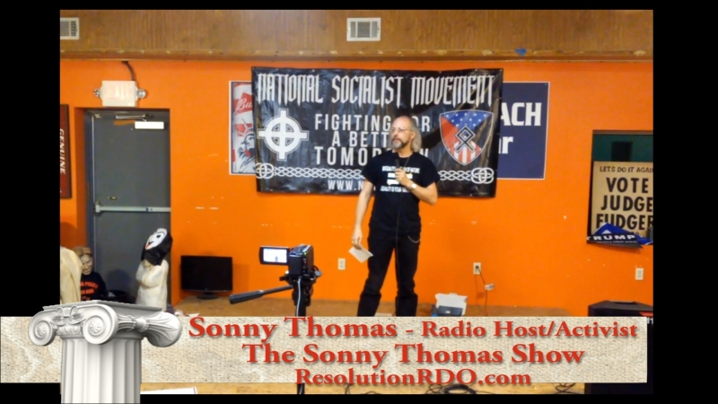 2018 Nationalist Front meet - Sonny Thomas