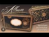Karton album dekor
