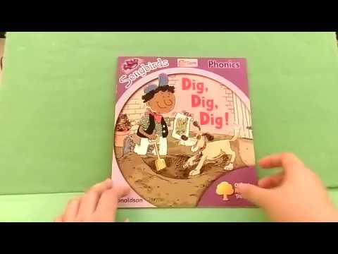 Songbirds Phonics Stage 1 Dig, Dig, Dig! (Oxford Reading Tree)