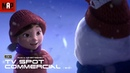 CGI VFX Commercial LILY AND THE SNOWMAN. Heart Warming Animated TV Spot by Hornet Films