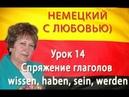 Немецкий с Любовью Урок 14 Спряжение глаголов wissen, haben, sein, werden