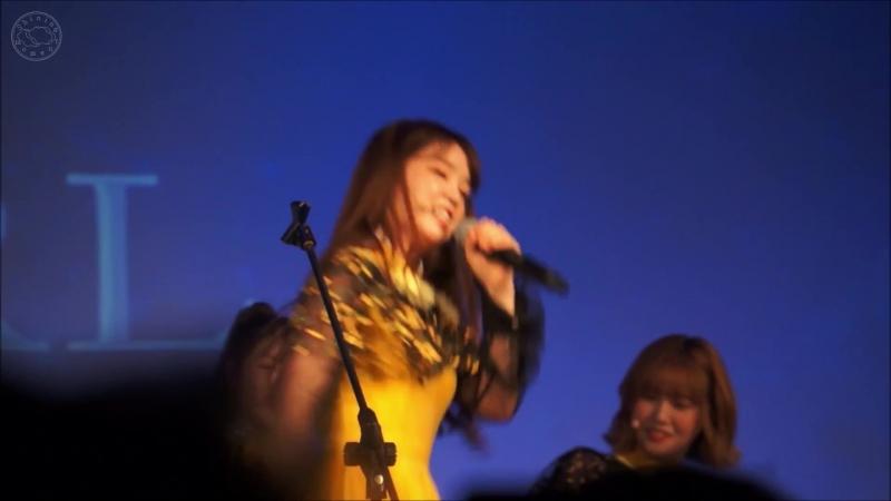 · Fancam · 180602 · OH MY GIRL (Seunghee focus) - Play Game № 1 - Shine (PENTAGON) · 1st Fan Concert In Taipei ·