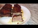 Запеченные Ребра Поджигаем Свиные Ребрышки Фламбирование Праздничное Мясное Блюдо