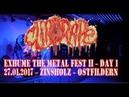 Clitorape LIVE @ Exhume The Metal 2 - Day 1 - Zinsholz Ostfildern - 27.01.2017 - Dani Zed