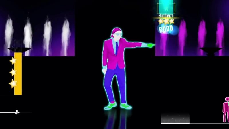 Humberto Contreras We No Speak Americano Just Dance 2016 Unlimited Gameplay 5 Stars KINECT