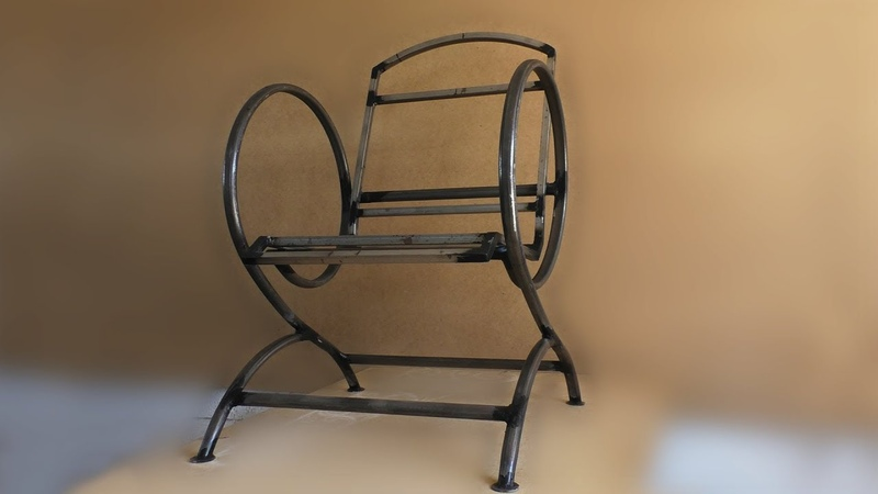 Кресло из труб (каркас)