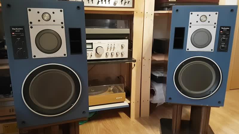 Technics SB M5 Pioneer SA 8800 Тест вокал