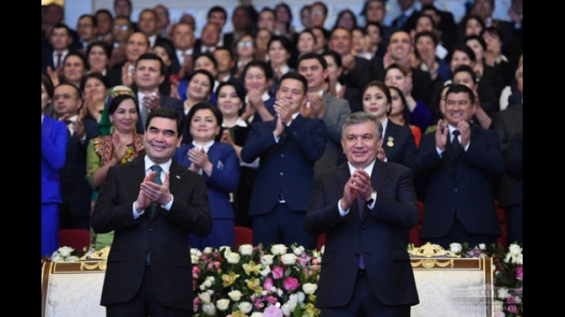 O'zbekiston va Turkmaniston san'at ustalarining qo'shma konserti