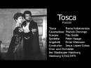 Tosca Plácido Domingo Tito Gobbi Kabaivanska Lopez Cobos Hamburg 1975