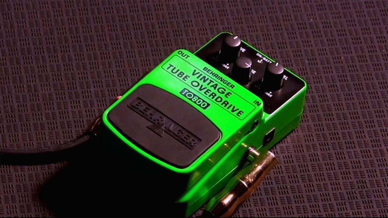 VINTAGE TUBE OVERDRIVE TO800 Vintage Tube-Sound Overdrive Effects Pedal