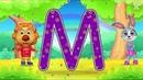 Учим Английский Алфавит весело видео для детей ютюб