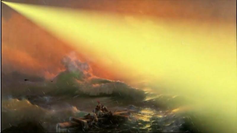 «Девятый вал» И. Айвазовский. Как это было! Живая картина The Ninth Wave I. Aivazovsky. How it was!