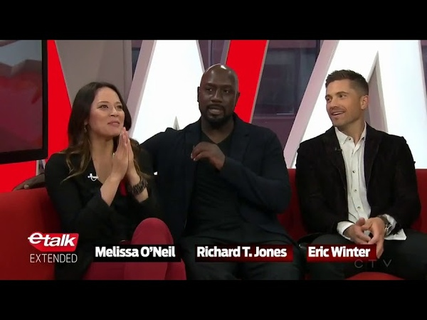 Melissa ONeil, Richard T. Jones and Eric Winter discuss their new show TheRookie