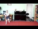 Танец папуасов.Импровизация под звуки ударных