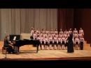 Концертный хор младших классов Веснянка Сочинение о весне