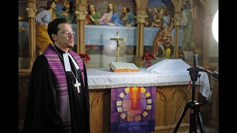 2 воскресенье Страстного времени - Reminiscere. Проповедь - архиепископ ЕЛЦ России Дитрих Брауэр.