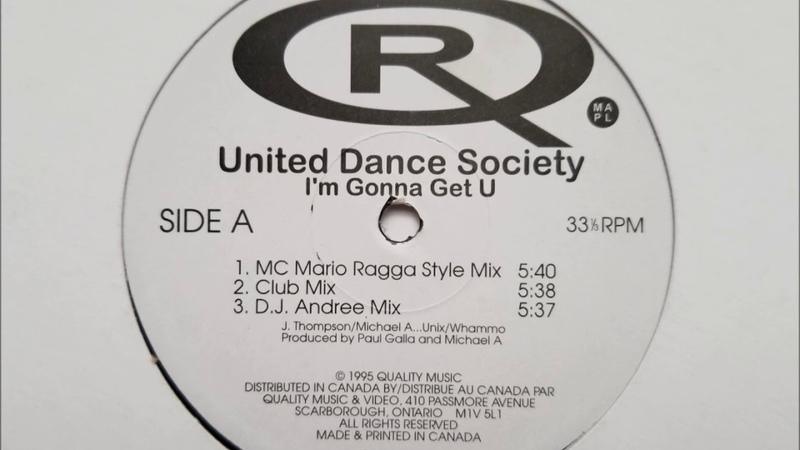 United Dance Society - I'm Gonna Get U