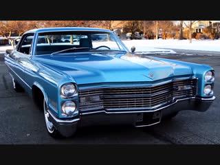 Автомобиль Cadillac Coupe DeVille Hardtop, 1966 года