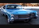 Автомобиль Cadillac Coupe DeVille Hardtop 1966 года