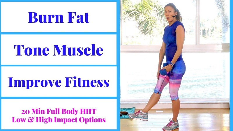 HIIT 71: 20 minute full body HIIT workout to burn fat, build muscle, increase fitness