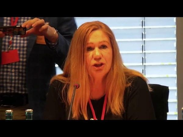 Олена Бережна про репресії укрсучвлади Виступ в Бундестазі 11 06 2018