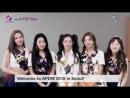 180917 REDVELVET greeting video for APDW 2018 X K-POP Stars