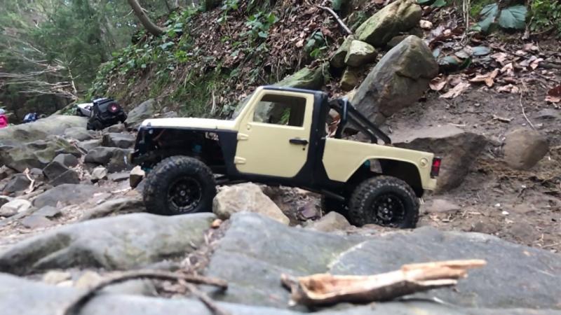 Rc jeep rubicon pickup